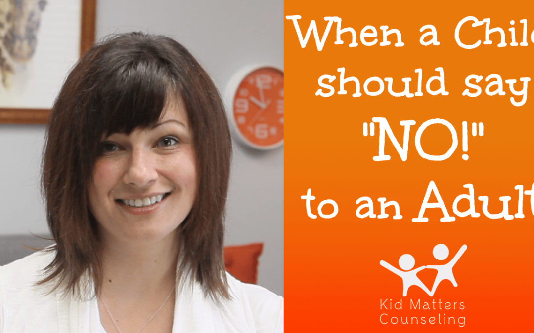 Saying No To An Adult Kid Matters Counseling