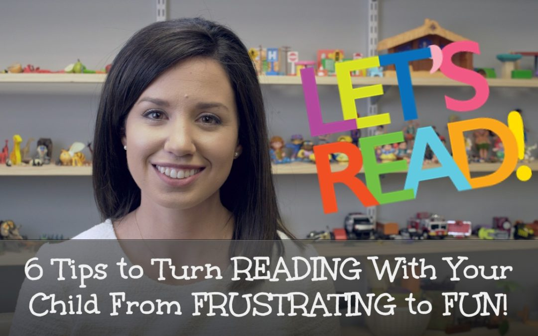 6 Tips for Reading to Your Child