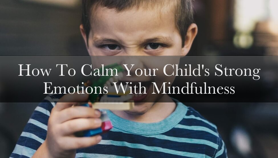 How To Calm Your Child's Strong Emotions With Mindfulness [VIDEO]